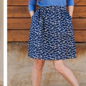 Boden Millie Skirt - Navy Trees